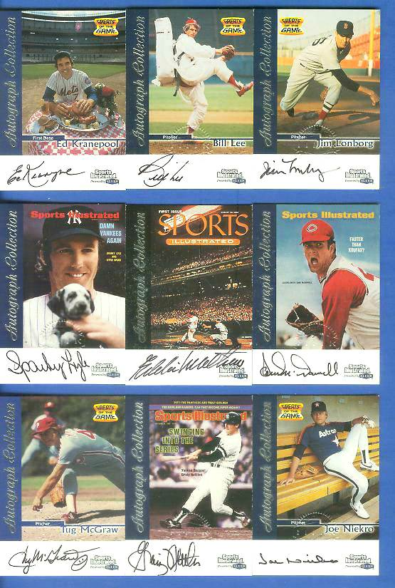 1999 SI Greats of the Game AUTOGRAPHS #51 Graig Nettles Baseball cards value
