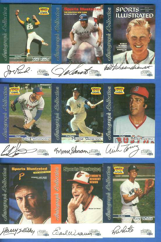 1999 SI Greats of the Game AUTOGRAPHS #69 Moose Skowron Baseball cards value