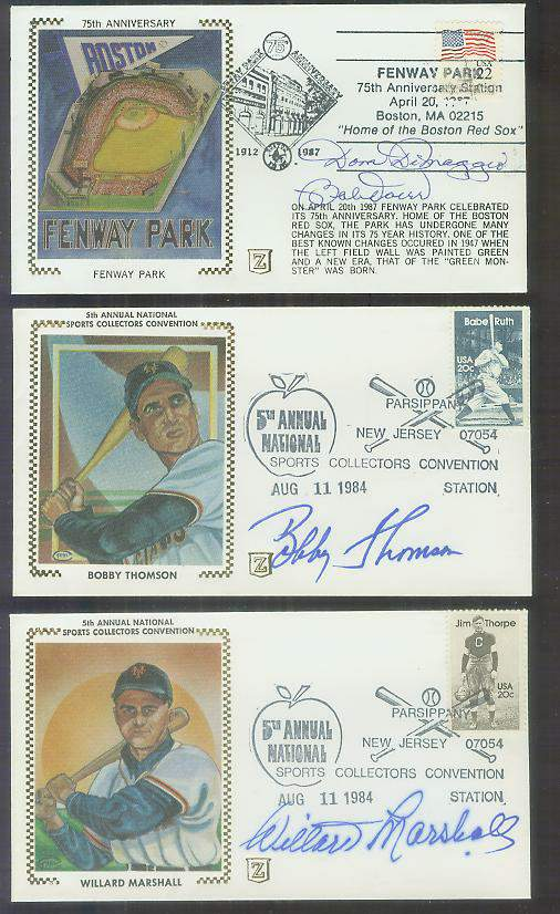 Bobby Thomson - 1984 AUTOGRAPHED Z-Cachet (NY Giants) Baseball cards value