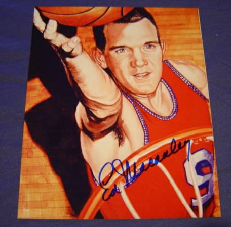 Ed McCauley - AUTOGRAPHED Color 8x10 Basketball cards value