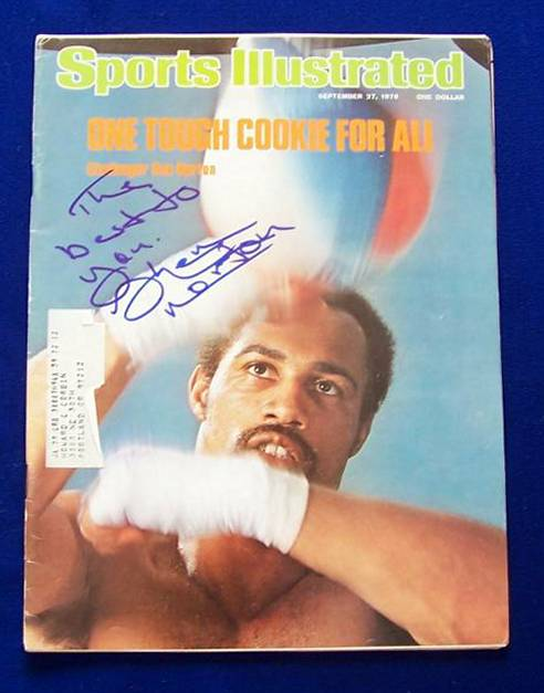 Ken Norton - AUTOGRAPHED 'Best to You' 1976 Sports Illustrated (Boxing) Boxing cards value