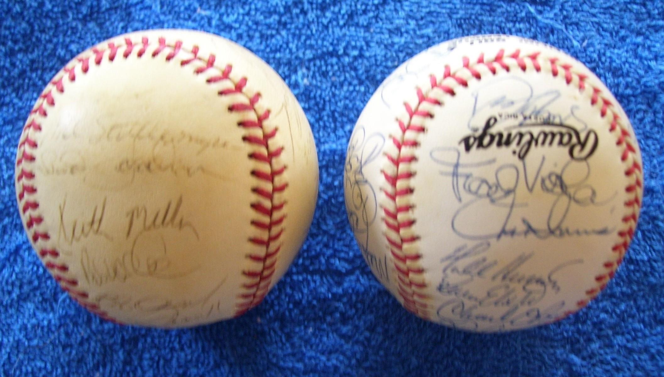 1988 +1991 METS-Team Signed/AUTOGRAPHED baseballs [#edxx] w/58 Signatures Baseball cards value
