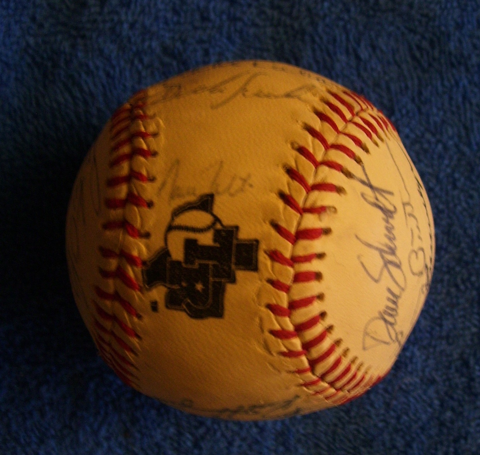 1983 Rangers - Team Signed/AUTOGRAPHED baseball [#ed4-01] w/26 Signatures Baseball cards value
