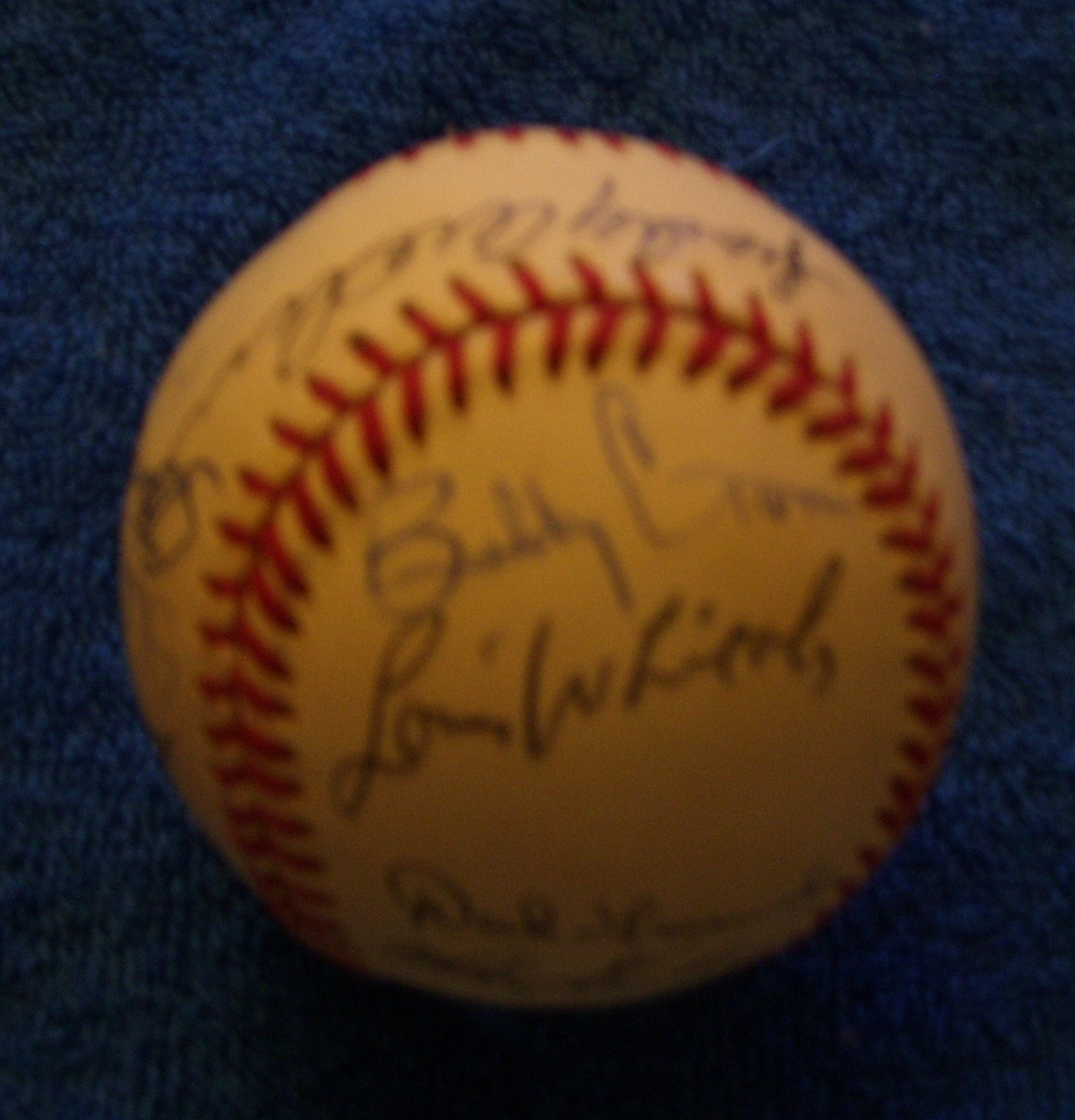 1994 Tigers - Team Signed/AUTOGRAPHED baseball [#ed4-06] w/21 Signatures Baseball cards value