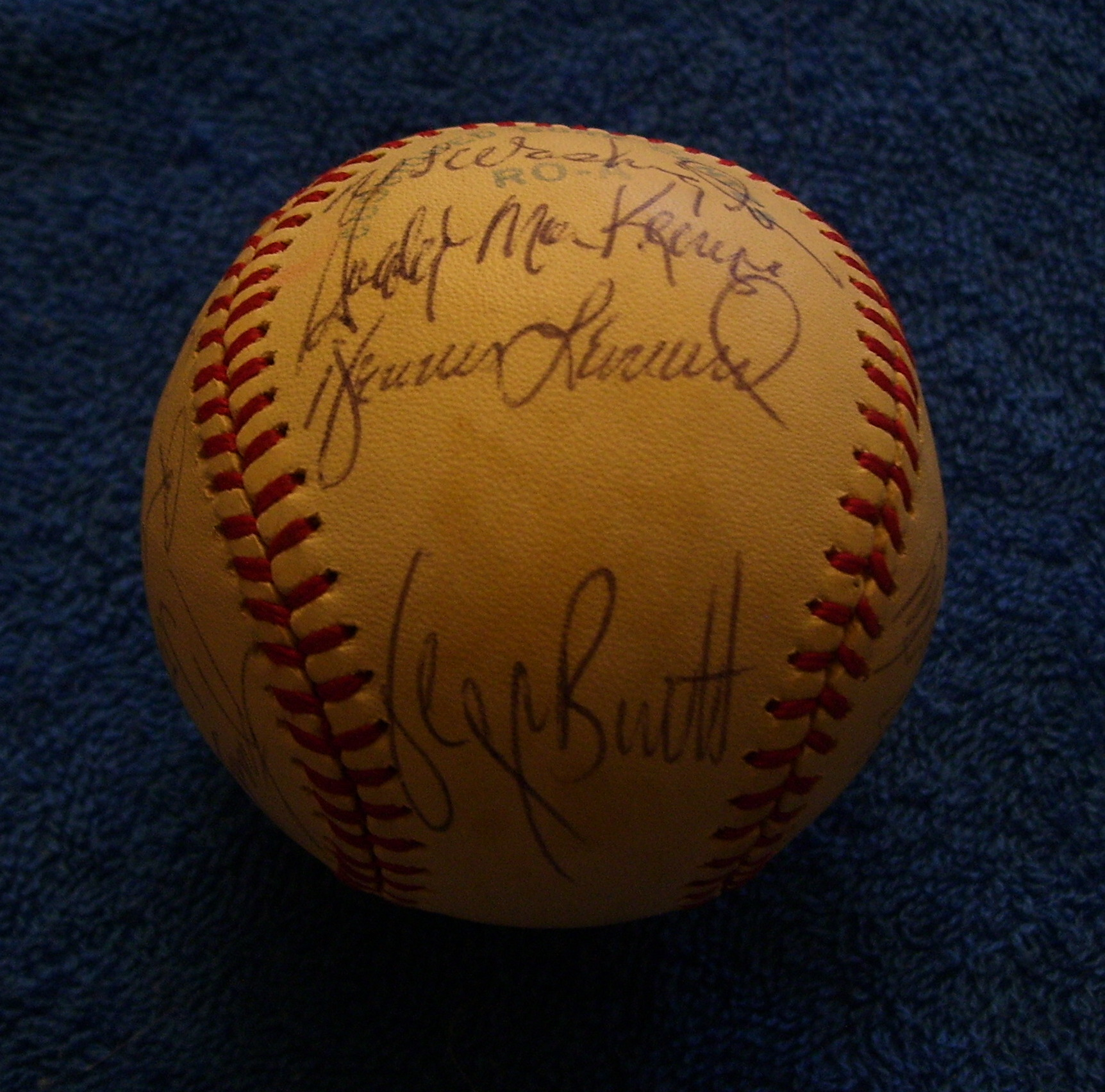 1980 Royals - Team Signed/AUTOGRAPHED baseball [#ed4-09] w/20 Signatures Baseball cards value