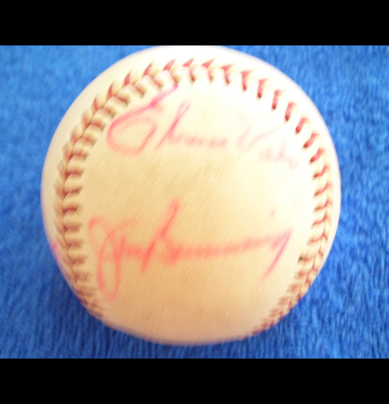 1972 Phillies - Team Signed/AUTOGRAPHED baseball [#ed5-04] w/9 Signatures Baseball cards value