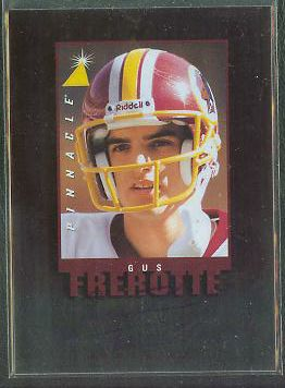 Gus Frerotte - 1997 Pinnacle 'Inscriptions' AUTOGRAPH (Redskins) Football cards value
