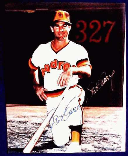 Steve Garvey - Autographed Color 8x10 (Pose #A) DOUBLE SIGNED !!! (Padre Baseball cards value