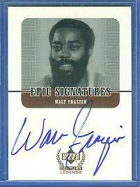 1999 UD Century Legends 'Epic Signatures' #WF WALT FRAZIER AUTOGRAPH Basketball cards value