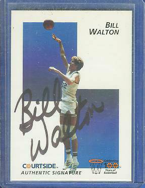 1992 Courtside #45 Bill Walton AUTOGRAPH (UCLA) Basketball cards value