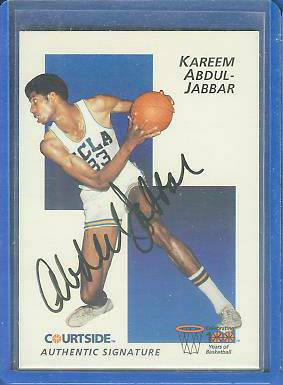 1992 Courtside #18 KAREEM ABDUL-JABBAR (UCLA) Basketball cards value