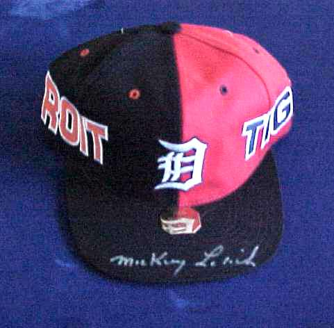 Mickey Lolich - AUTOGRAPHED Baseball Cap (Tigers) Baseball cards value