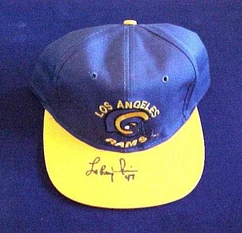 Leroy Irvin - AUTOGRAPHED Baseball Cap Football cards value