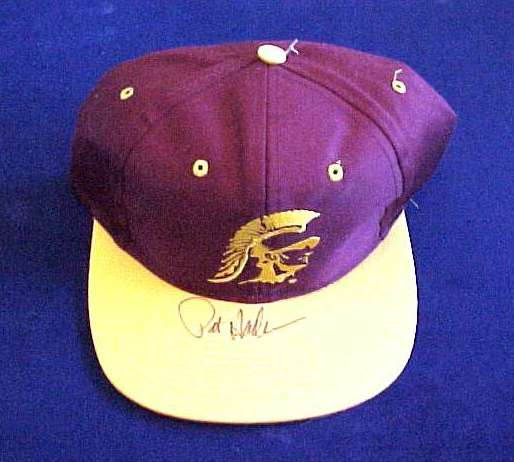 Pat Hayden - AUTOGRAPHED USC Baseball Cap Football cards value