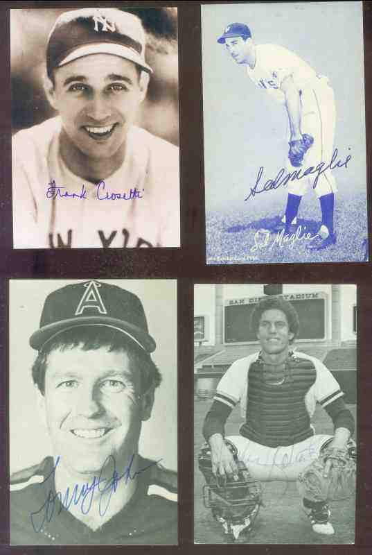 Dave Roberts - AUTOGRAPHED Postcard (Padres) Baseball cards value
