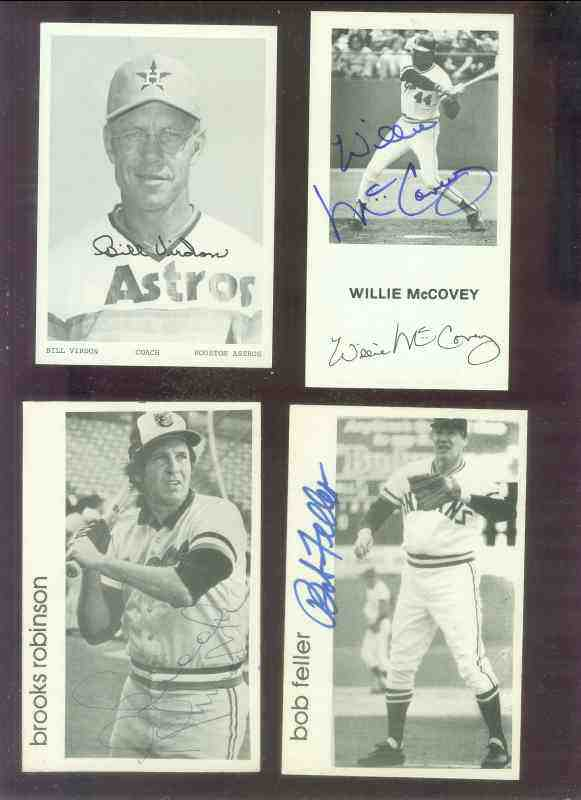 Brooks Robinson - AUTOGRAPHED Postcard (Orioles) Baseball cards value