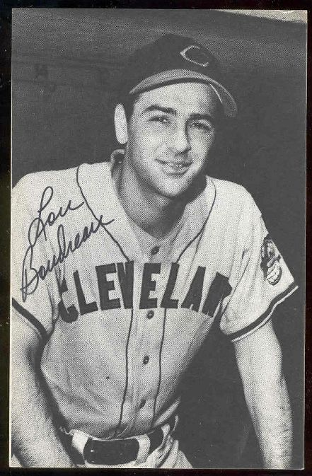 Lou Boudreau - AUTOGRAPHED 1974 TCMA 'League Leaders' Postcard (Indians) Baseball cards value