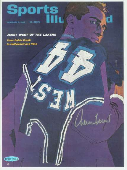 Jerry West - UDA AUTOGRAPHED - UDA issued Sports Illustrated Cover Basketball cards value