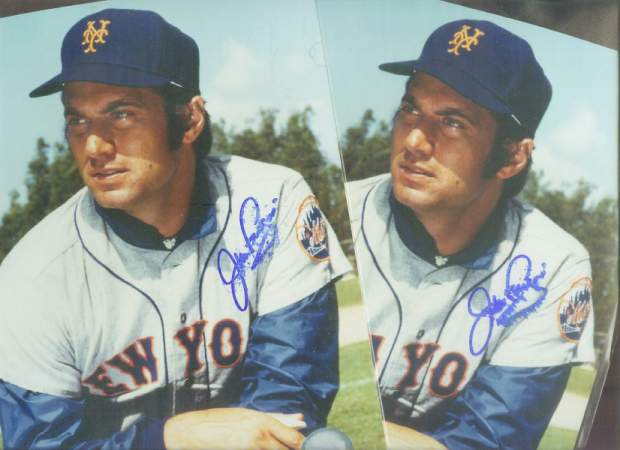 Jim Fregosi - Lot of (2) Smudged Autographed COLOR 8x10 (Mets) +++ MORE Baseball cards value