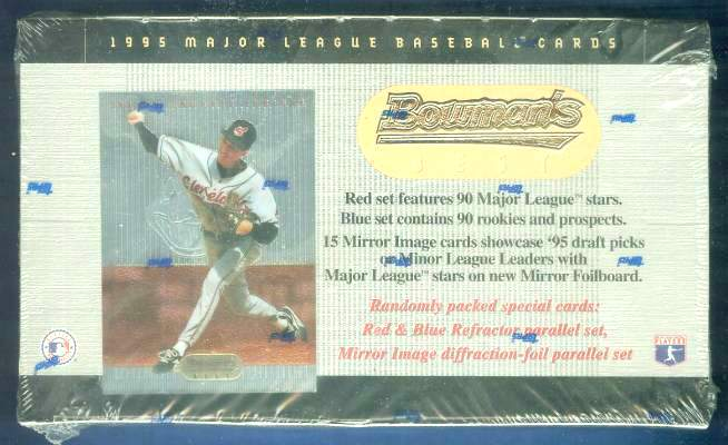 1995 Bowman's Best - SEALED Wax Box (24 packs, 7 premium cards/pack) Baseball cards value