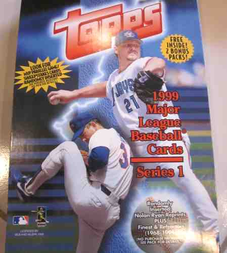 1999 Topps - SEALED Wax Box Series 1 (24 packs) Baseball cards value