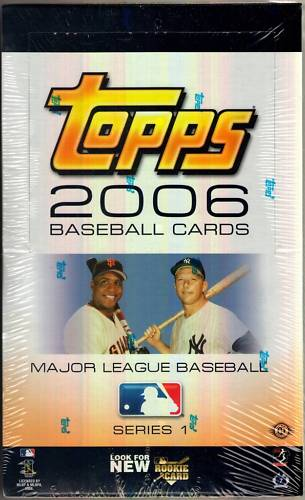 2006 Topps - SEALED Wax Box Series 1 (24 packs) Baseball cards value