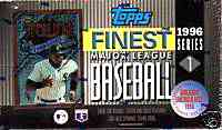 1996 Finest Series 1 - Wax Box (24 packs) Baseball cards value