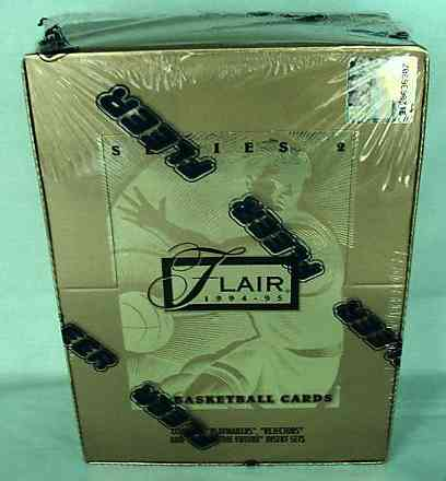 1994-95 Flair Series 2 Basketball - Wax Box (36 packs) Basketball cards value