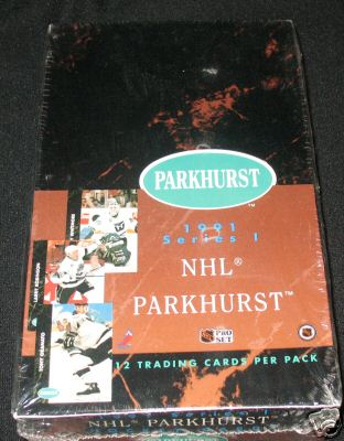 1991-92 Parkhurst HOCKEY -  Wax Box [Series 1] Hockey cards value