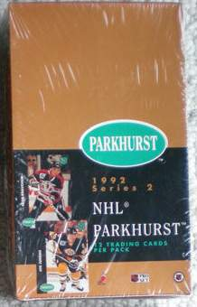 1992-93 Parkhurst HOCKEY -  Wax Box [Series 2] Hockey cards value