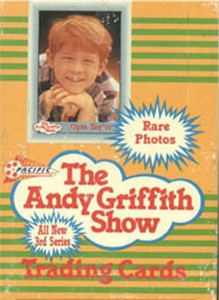 1991 The Andy Griffith Show - Series 3 Wax Box (36 packs,10 cards/pack) Non-Sports cards value