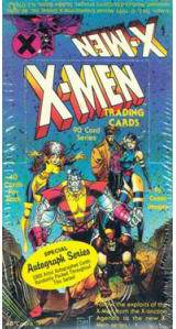 1991 Marvel X-MEN - Sealed Wax Box (48 packs) Non-Sports cards value