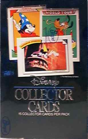 1991 Walt Disney - Sealed Wax Box (36 packs,15 cards/pack) Non-Sports cards value