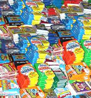 *** LOT of OVER (100) assorted 1980's & 1990's BASEBALL Unopened Packs *** Baseball cards value