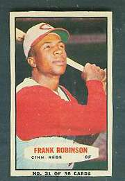 1963 Bazooka #31 FRANK ROBINSON (Reds) Baseball cards value