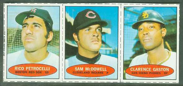 1971 Bazooka COMPLETE PANEL #NoNum Rico Petrocelli/Sam McDowell ... Baseball cards value