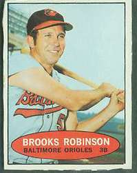 1971 Bazooka #NoNum Brooks Robinson (Orioles) Baseball cards value