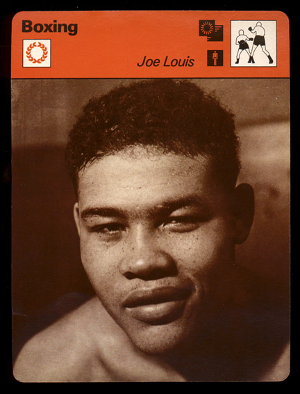1977-79 Sportscaster BOXING card #06-12 Joe Louis Baseball cards value