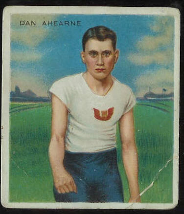 1910 T218 Hassan TRACK - Dan Ahearne Baseball cards value