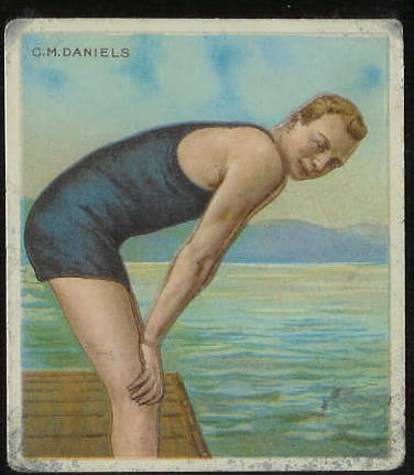 1910 T218 Hassan SWIMMING - C.M. Daniels Baseball cards value