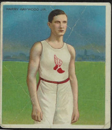1910 T218 Hassan TRACK - Harry Haywood Jr. Baseball cards value