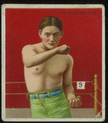 1910 T218 Hassan BOXING - Phil McGovern Baseball cards value