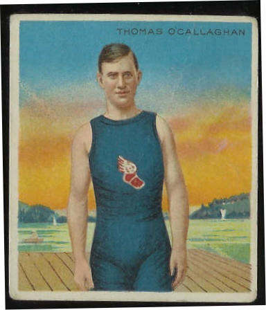 1910 T218 Hassan TRACK - Thomas O'Callaghan Baseball cards value