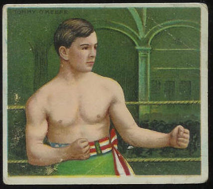 1910 T218 Hassan BOXING - Tommy O'Keefe Baseball cards value