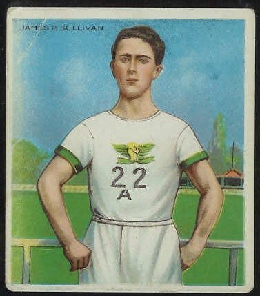 1910 T218 Hassan TRACK - James Sullivan Baseball cards value