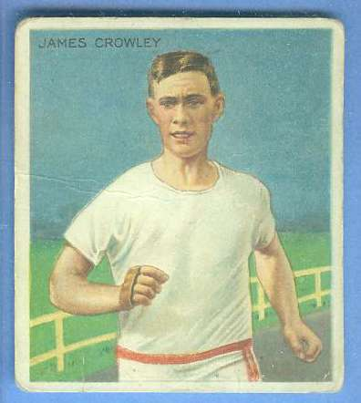 1910 T218 Mecca TRACK - James Crowley Baseball cards value
