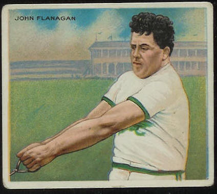 1910 T218 Mecca TRACK - John Flanagan Baseball cards value