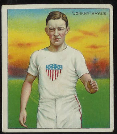 1910 T218 Mecca TRACK - John Hayes Baseball cards value
