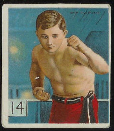 1910 T218 Mecca BOXING - Billy Papke Baseball cards value