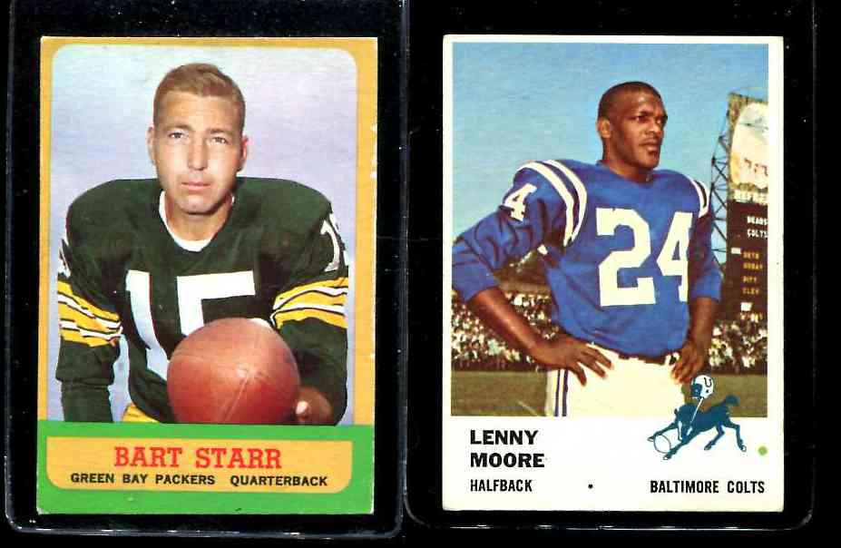1963 Topps FB # 86 Bart Starr (Packers) Football cards value